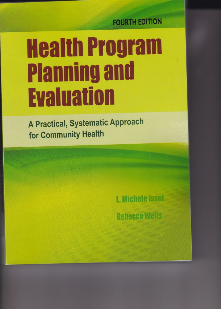HEALTH PROGRAM PLANING AND EVALUATION